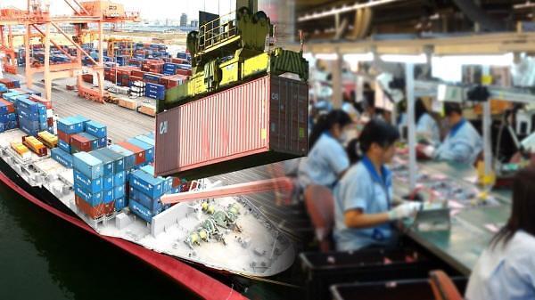 韩1月前20天出口同比增9.2%