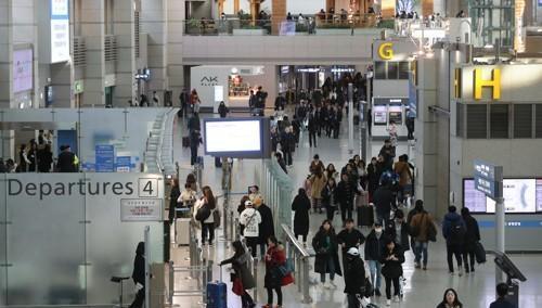 2017年访华韩国人同比减少13%