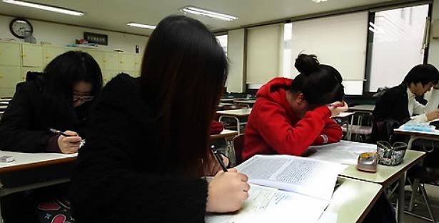 逾8成韩国青少年接受课外教育 半数认为社会还算公平