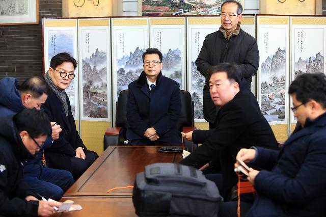 南선발대 금강산·마식령스키장·갈마비행장 집중 점검