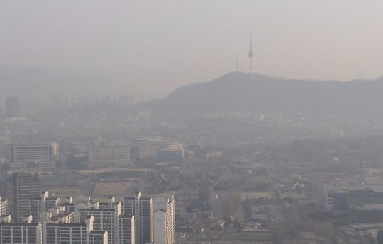 韩国空气质量引担忧 全球排名119位