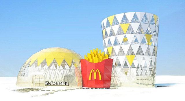 全球首家汉堡套餐造型快餐店将亮相平昌