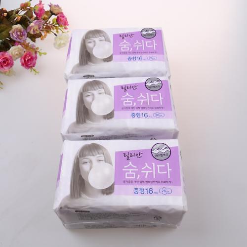 韩国可绿纳乐: 经SGS检验旗下卫生巾不含有毒物质