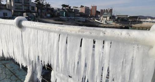 韩国迎入冬最冷天气 首尔零下16.9度