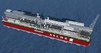 現代重工業、5億ドル規模の海上LNG基地の基本設計契約