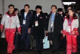 .韩朝体育代表团将单独举行入村仪式.