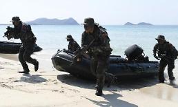 .韩军将参加金色眼镜蛇联合军演.