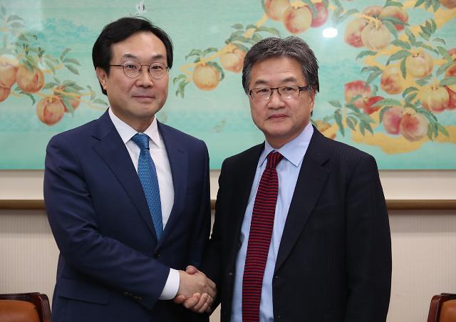 朝核六方会谈韩美团长今在首尔会晤