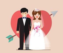 .调查:韩国新婚夫妇结婚要花120万人民币 .
