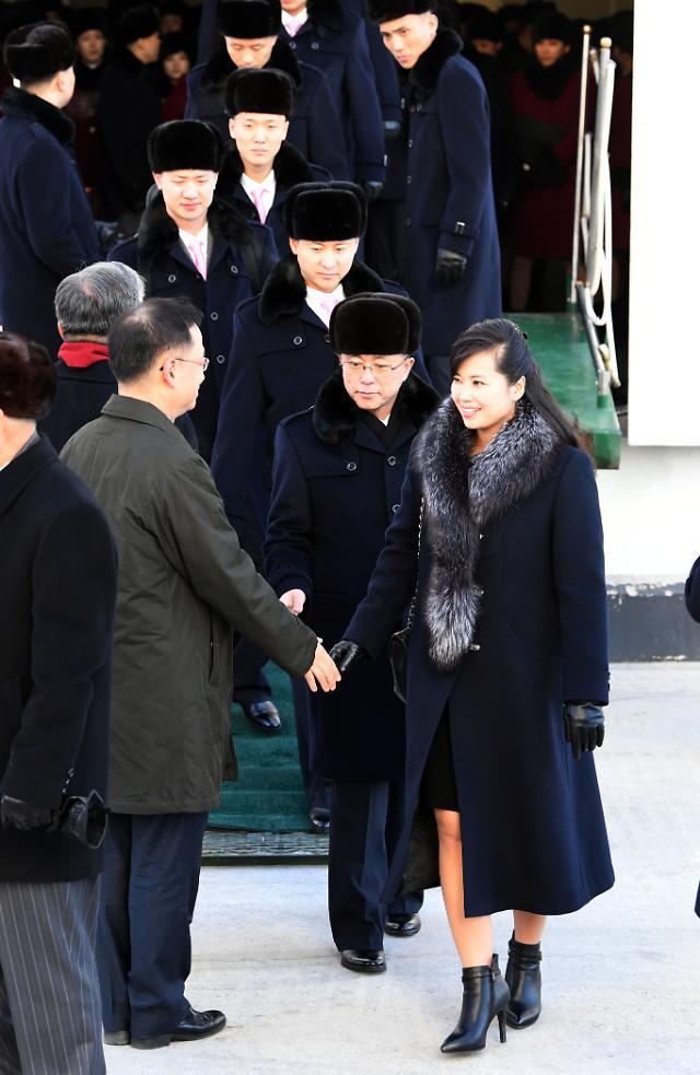 两次访韩身穿同一件大衣的玄松月