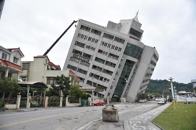 外交部:14名韩国公民在台湾莲花地震中获救