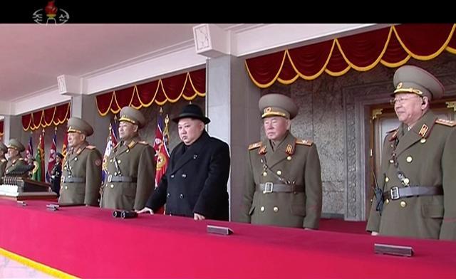 朝鲜建军节阅兵规模缩水或为韩国冬奥会让路