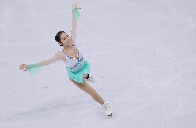 花滑选手崔多彬在女子单人短节目中创个人最好成绩