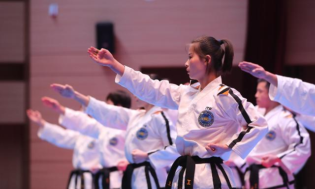 朝鲜艺术团跆拳道示范团韩国表演获赞 回国进入倒计时