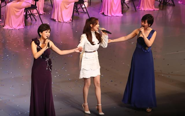 朝鲜艺术团第二场演出落幕 少时成员徐贤惊喜登场