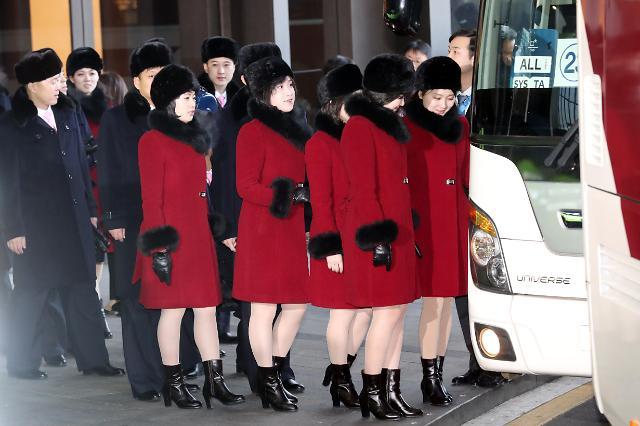 再见!朝鲜艺术团结束韩国行程返朝