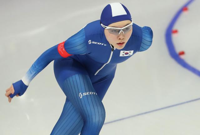 冬奥速滑女子1500米 韩国卢善英刷新个人奥运纪录