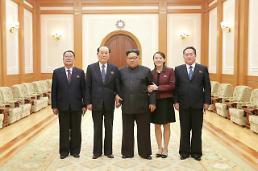 .金正恩听取高级别代表团访韩成果汇报.