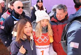 [OLY] Womens halfpipe champion says family drives her run: Yonhap