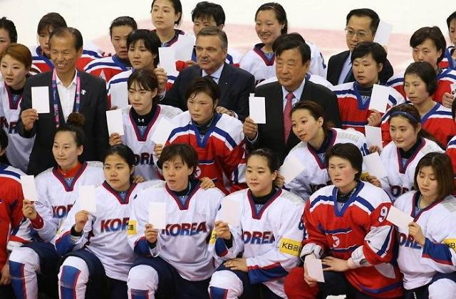 韩朝冰球女子联队明日对阵日本 能否取得首胜引关注
