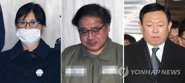 韩国亲信干政案一审宣判:崔顺实被判有期徒刑20年