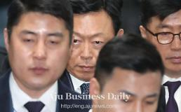 .Lotte group chief jailed in court for bribing crony of S. Koreas jailed ex-president .