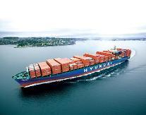 現代商船、昨年の営業損失4070億…赤字縮小