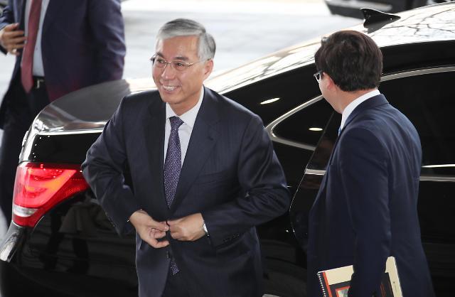 中国驻韩大使邱国洪到访统一部