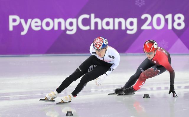 韩国金雅朗、崔珉祯进军短道女子1500米半决赛