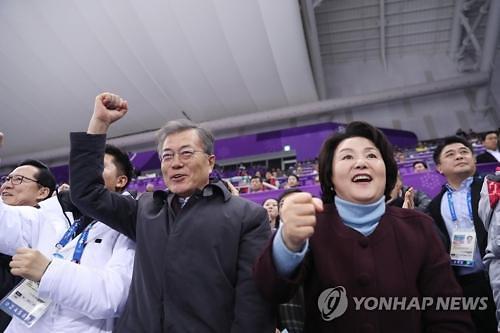 文在寅发文鼓励韩国短道速滑选手