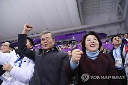 .文在寅发文鼓励韩国短道速滑选手.