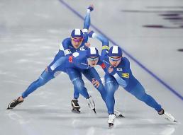 .冬奥速滑男子团体追逐 韩国队晋级半决赛.
