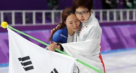 日 언론, 이상화-고다이라 10년 우정 '조명'