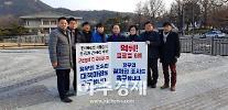 군산시의회 더불어민주당 의원들 청와대·중앙당 방문