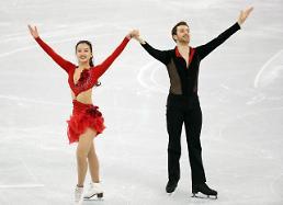 .冬奥花滑冰舞 韩国组合晋级自由舞.