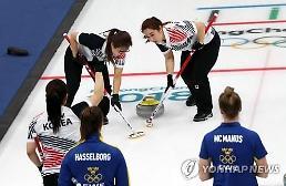 .冬奥冰壶女子预赛 韩国战胜瑞典排名升至第一.