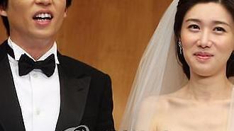 국민MC 유재석-아나운서 나경은, 두 아이 부모된다