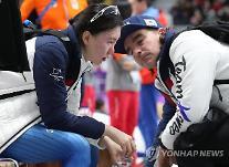 [평창]'팀' 추월한 예견된 탈락…김보름‧박지우 '등 뒤' 노선영의 씁쓸한 마지막 질주