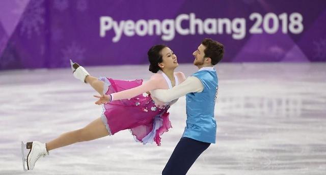 冬奥冰舞自由舞呈现感动 韩国组合穿韩服配民乐