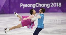 .冬奥冰舞自由舞呈现感动 韩国组合穿韩服配民乐.