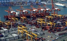 .韩2月前20天出口同比减少3.9%.