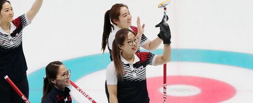 한국 컬링 여자 대표팀, 6승 1패로 1위 확정