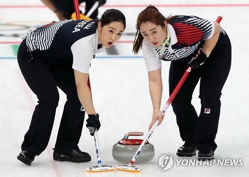 冬奥女子冰壶 韩国队预赛成绩位居第一