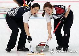 .冬奥女子冰壶 韩国队预赛成绩位居第一.