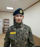 .金秀贤近况公开 18日从军队休假与亲朋好友度美好时光.