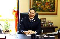 """주한필리핀대사 """"두테르테 대통령 방한시 양국 안보·경제 협력 우선 협의"""""""