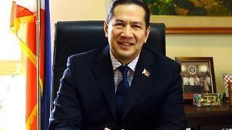 주한필리핀대사 두테르테 대통령 방한시 양국 안보·경제 협력 우선 협의