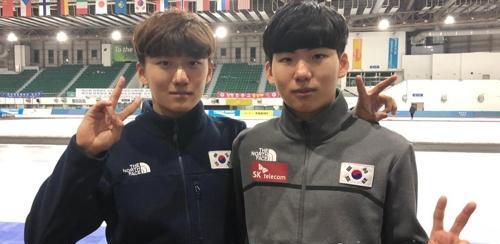 青年组世界纪录保持者郑在雄明出战冬奥速滑1000米