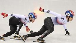.冬奥短道男子500米 韩国包揽银铜.