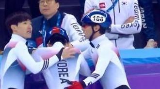 [평창동계올림픽] 멋진 선의의 경쟁을 펼친 우리 선수들··· 힘들어 할 필요없습니다